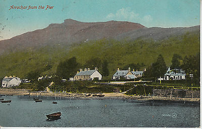Arrochar from the Pier - View of Village - PC PU 1919 (1551)