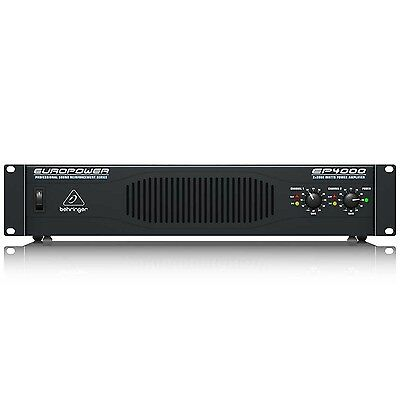 Behringer EP4000 Europower 4000W Stereo Power Amplifier