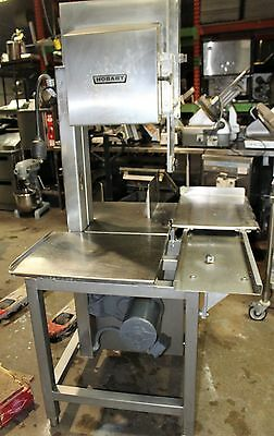 used Hobart Meat Saw Model 5801 (Requires 3-phase electric)