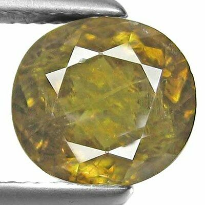 4.60Ct.Nice Natural Oval Round Facet Multi Brown Sphene Attractive Gemstone