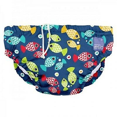 Bambino Mio Reusable Swim Nappy  Aquarium Medium (6-12 Months)