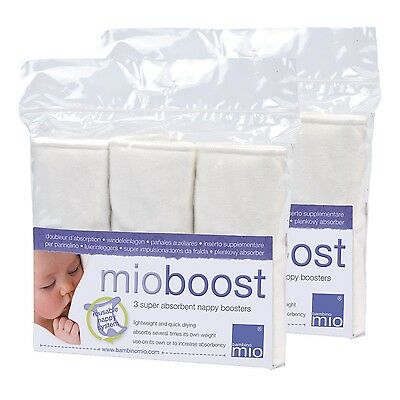 Bambino Mio Mioboost (Nappy Booster Pads) 2 Pack 3 Pack x2