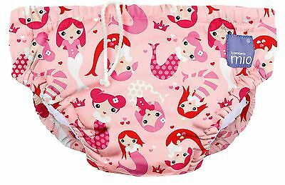 Bambino Mio Reusable Swim Nappy  Mermaid Large (1-2 Years) Large (1-2 Years)