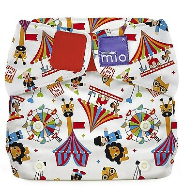 Bambino Mio Miosolo All-In-One Reusable Nappy Onesize Circus Time