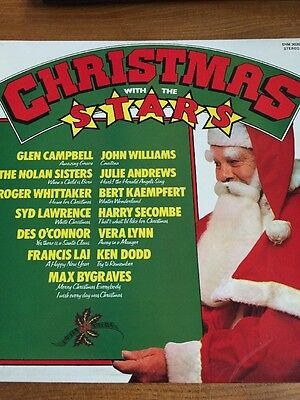 Christmas With The Stars Pickwick Records Shm 3020 Vinyl Lp