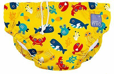 Bambino Mio Reusable Swim Nappy  Deep Sea Yellow Extra Large (2 Years+)