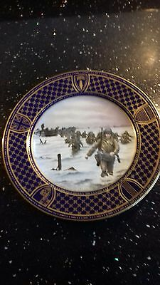 Limited Edition Omaha Beach Spode Bone China Plate