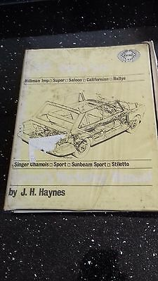 Haynes Manual Hillman Imp 1963 - 1973