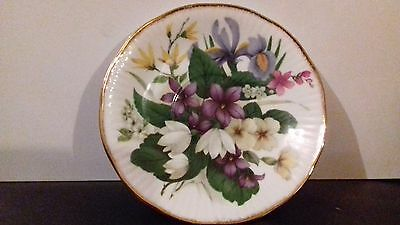 Queen's China Floral Plate
