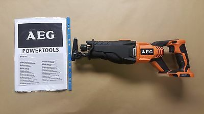 AEG 18V Cordless Reciprocating Saw BUS 18-0 (Bare unit only )