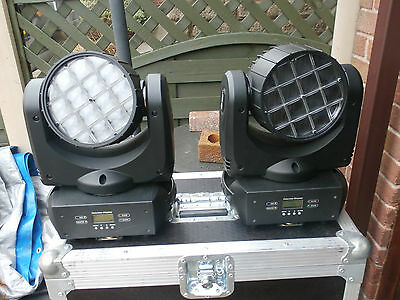 adj vortex /1200/moving heads x 4 with cases