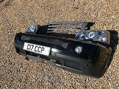Range Rover Sport Bumper Lights And Grill