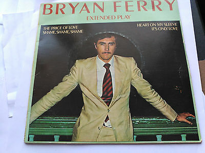Ep Bryan Ferry - Extended Play - Island Uk 1976 Vg+