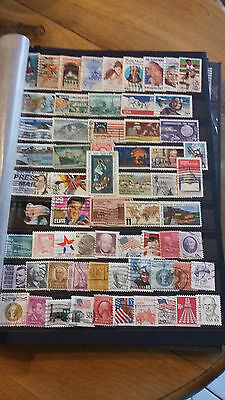 65 timbres USA (lot 3)