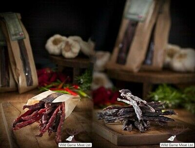 PORK, BEEF & DEER JERKY, DRIED MEAT 70g