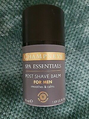 Champneys ~ Spa Essentials Post Shave Balm For Men ~ 50Ml New