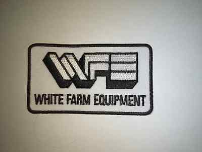 White Farm Equipment Patch
