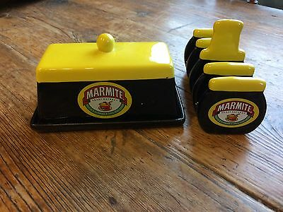 Marmite Collectable Butter Dish & Toast Rack