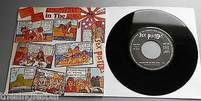 "Sex Pistols - Holidays In The Sun French Barclay 1977 7"" P/S"