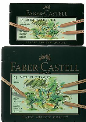FABER CASTELL Farbstift PITT PASTEL 12/24/36/60 Metalletui