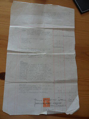 Old Document dated 1947