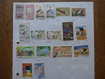 Niger - Various Stamps