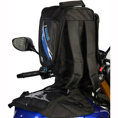 Motorcycle Oxford First Time Expander Tank Bag - 38L UK Seller