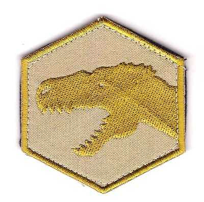 Army Tactical Morale Embroidered Patch Dinosaur Hook & Loop