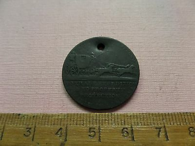 Payable In London Palmer's Mail Coach Halfpenny 1/2d Token (228)