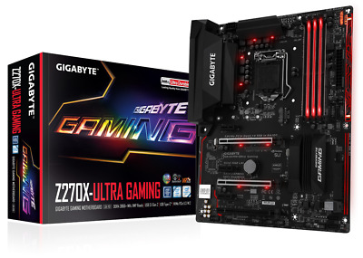 Gigabyte Z270X-Ultra Gaming - ATX Motherboard for Intel Socket 1151 CPUs