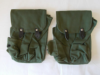 2 x Authentic Bulgarian AK47 4 Cell Ammo Pouch Ammunition Bag 1980's
