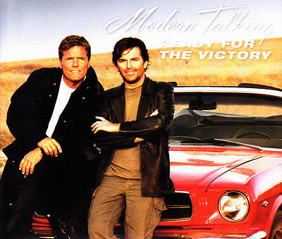 Modern Talking - Ready For The Victory Cd Single 7 Tracks 2002 Excellent