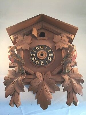 vintage Cuckoo Clock  House  Parts Restoration   Made In Germany