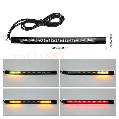 48-SMD LED Bar Brake Tail Light & Left/Right Turn Signal Lamp for Can-Am ATV