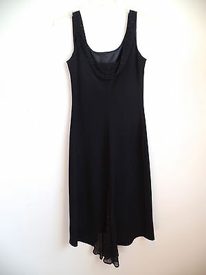 Black Formal Dress Evening Party Prom Bridesmaid Womens Size 6