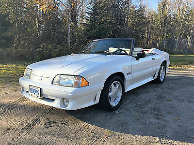 Ford: Mustang GT Convertible Well preserved Mustang GT Convertible all original.