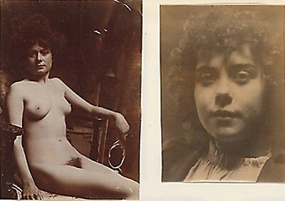 """""""vintage 1850 Hairy Bush French Girl In The Nude""""     8 X 10 Glossy Photo"""