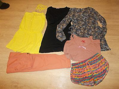 Ladies clothes bundle  Size 8/10  x  6   + Purse