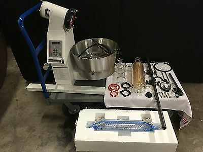 Yamato Scientific Re-71 10 Ltr Rotary Evaporator Powers On Parts Only No Returns