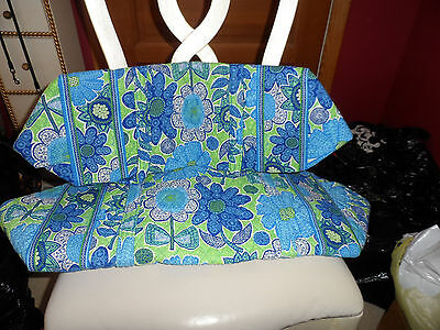 Vera bradley Large and small duffel bag travel set in  Daisy Doodle NWOT