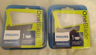 Philips One Blade Replacement Cartridge One Pack x2