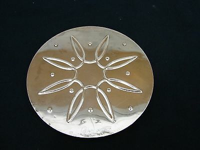 """Towle Sterling Silver 6 1/4"""" Dia. Trivet Hot Plate"""
