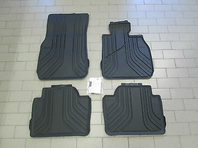 Genuine BMW F30/F31 3 Series Tailored Rubber Car Mats