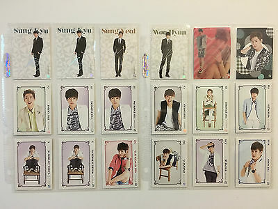 Infinite Star Collection Card Photocard Official