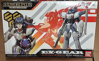 Macross Frontier dx Bandai armor plus ALTO GEAR SAOTOME vf 25 f troopers