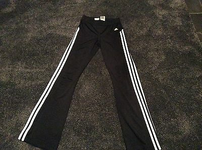 Girls Adidas climalite jogging bottoms age 13/14 years