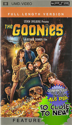 �� ●● THE GOONIES ●● UMD Children's Movie For Sony PSP **NEAR NEW** Spielberg