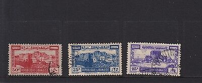 SW24 Selection of Used Lebanon Stamps