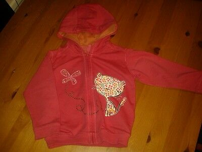 Baby girls Marks and Spencer hooded top 12-18 months