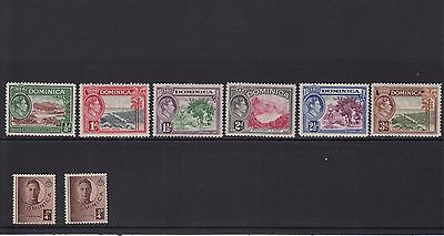SW53 Selection of Mint Dominica Stamps